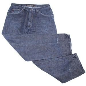 Vintage 90s Guess Mens Dark Wash Denim Jeans Pants